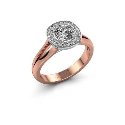 Bild von Ring Carolina 1 585 Roségold Diamant 0.66 crt