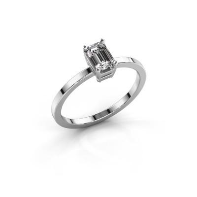 Foto van Verlovingsring Denita 1 585 witgoud lab-grown diamant 0.70 crt
