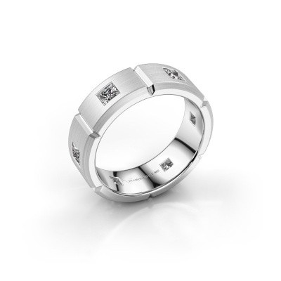 Heren ring Steve 950 platina lab-grown diamant 1.02 crt