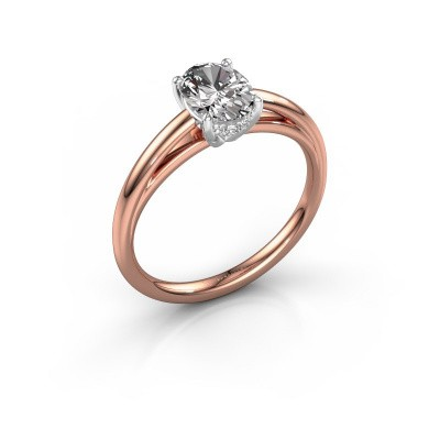 Verlobungsring Haley OVL 1 585 Roségold Diamant 1.00 crt