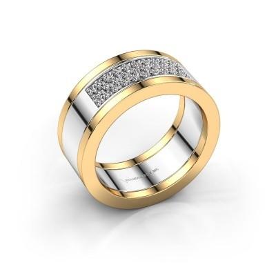 Ring Marita 3 585 white gold zirconia 1.3 mm