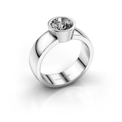Foto van Ring Ise 1 925 zilver diamant 1.00 crt
