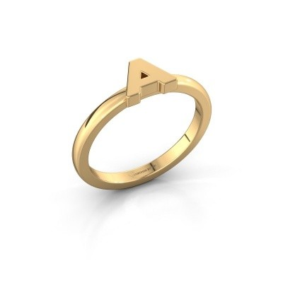 Picture of Ring Initial ring 020 585 gold