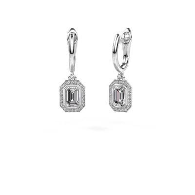 Foto van Oorhangers Noud EME 925 zilver diamant 0.70 crt