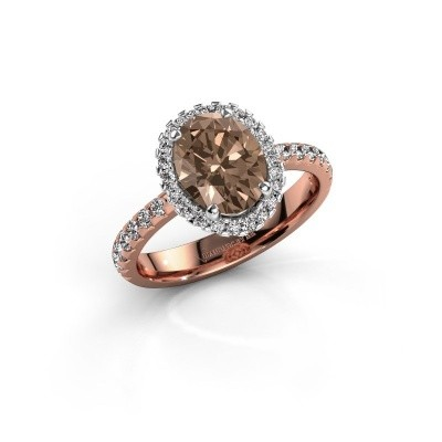 Picture of Engagement ring Lavelle 585 rose gold brown diamond 2.292 crt