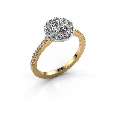 Foto van Verlovingsring Misti 2 585 goud lab-grown diamant 0.92 crt