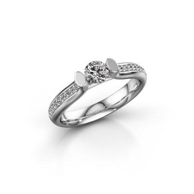 Foto van Verlovingsring Ashlyn 2 585 witgoud diamant 0.48 crt