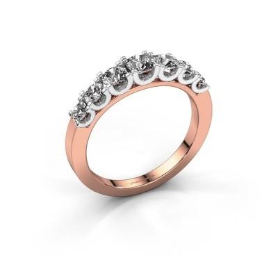 Foto van Verlovingsring Selina 3 585 rosé goud lab-grown diamant 0.86 crt