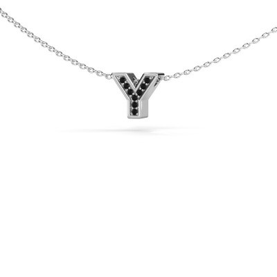 Initial pendant Initial 140 375 white gold