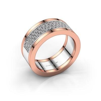 Foto van Ring Marita 5 585 witgoud zirkonia 1.3 mm