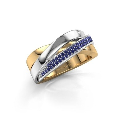 Foto van Ring Katherina 585 goud saffier 1 mm