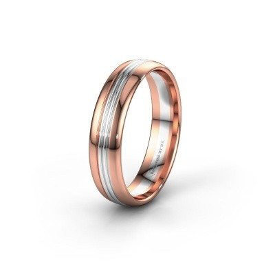 Wedding ring WH0405M35X 585 rose gold ±0.20x0.06 in