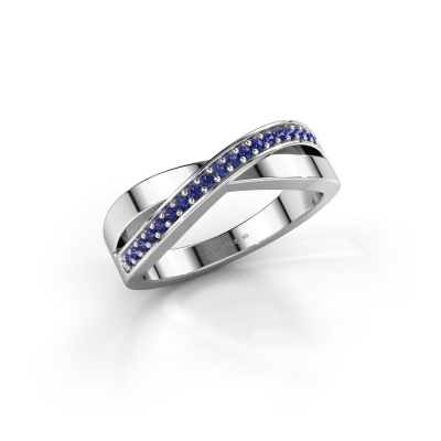 Picture of Ring Kaley 925 silver sapphire 1.2 mm