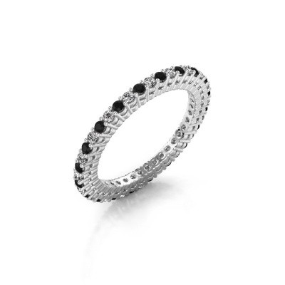 Photo de Bague superposable Rufina 1 585 or blanc diamant 0.660 crt