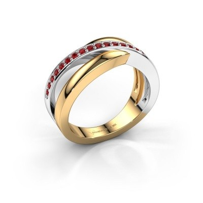 Picture of Ring Colette 585 gold ruby 1.3 mm