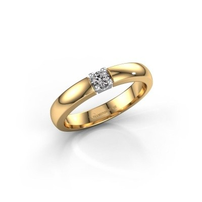 Engagement ring Rianne 1 585 gold lab-grown diamond 0.10 crt