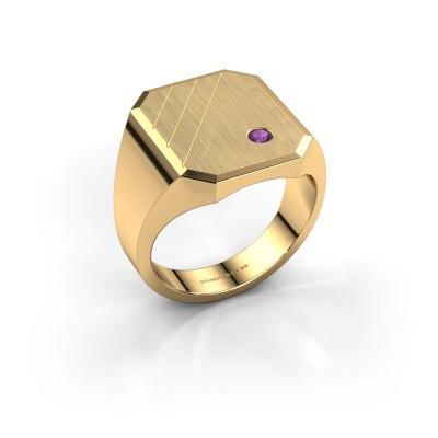 Bild von Siegelring Patrick 5 585 Gold Amethyst 2.5 mm