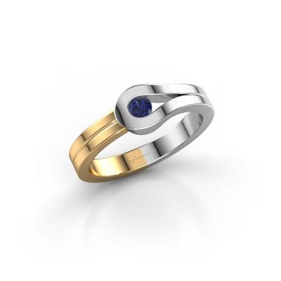 Ring Kiki 585 white gold sapphire 3 mm