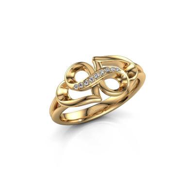 Bild von Ring Rowie 585 Gold Diamant 0.043 crt