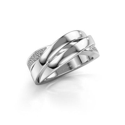 Foto van Ring Tegan 585 witgoud lab-grown diamant 0.166 crt