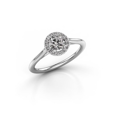 Picture of Engagement ring Marty 1 585 white gold diamond 0.605 crt