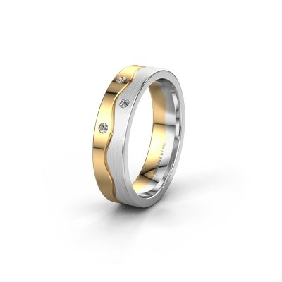 Ehering WH0701L15APM 585 Gold Lab-grown Diamant ±5x1.7 mm