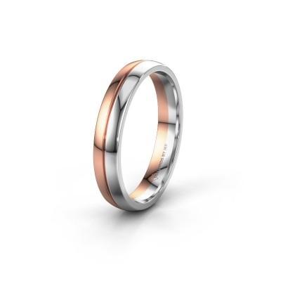 Wedding ring WH0200M24AP 585 rose gold ±4x1.7 mm