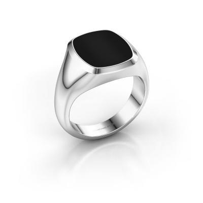Picture of Signet ring Benjamin 3 950 platinum onyx 14x12 mm