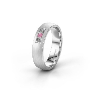Ehering WH0110L25AM 950 Platin Pink Saphir ±5x1.7 mm