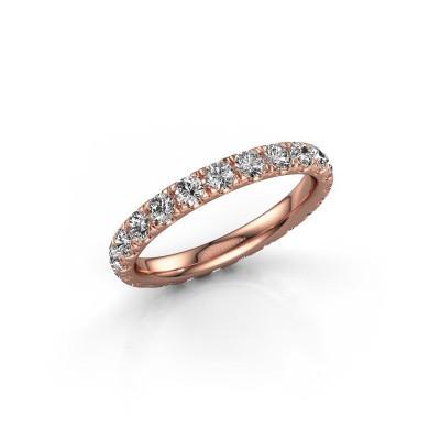 Foto van Ring Jackie 2.5 375 rosé goud lab-grown diamant 1.38 crt