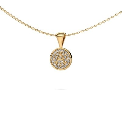 Picture of Initial pendant Initial 010 585 gold