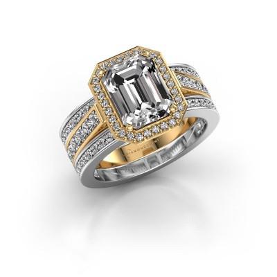 Foto van Ring Dodie 3 585 goud lab-grown diamant 3.49 crt