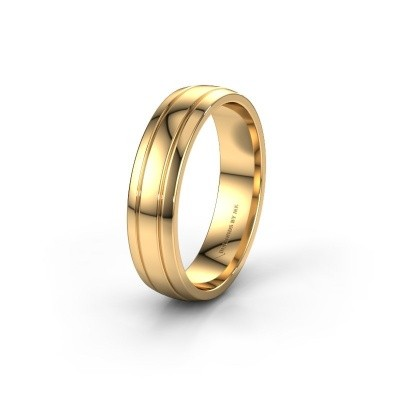 Wedding ring WH0422M25X 585 gold ±5x1.5 mm
