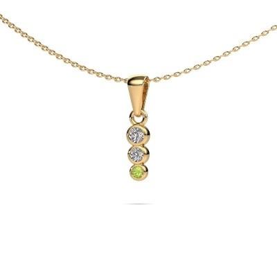 Foto van Hanger Felica 585 goud diamant 0.135 crt