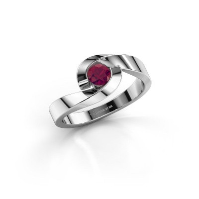 Picture of Ring Sheryl 585 white gold rhodolite 4 mm