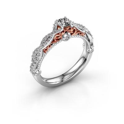 Foto van Verlovingsring Chantelle 585 witgoud diamant 0.63 crt