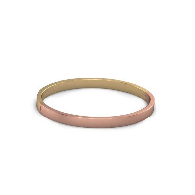 Picture of Bangle Edra 5mm 585 rose gold