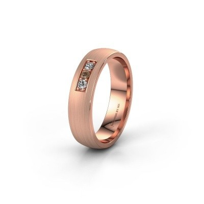 Ehering WH0110L25AM 375 Roségold Braun Diamant ±5x1.7 mm