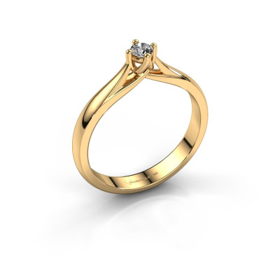 Verlobungsring Janne 585 Gold Diamant 0.08 crt