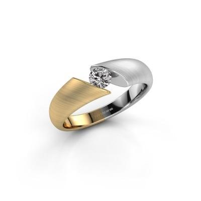 Foto van Verlovingsring Hojalien 1 585 goud zirkonia 4 mm
