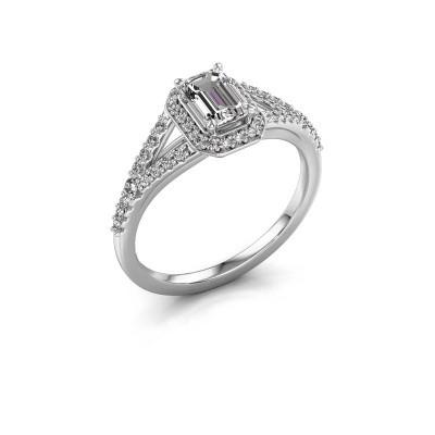 Foto van Verlovingsring Pamela EME 585 witgoud diamant 0.95 crt