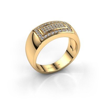 Foto van Mannen ring Lorenzo 375 goud lab-grown diamant 0.52 crt