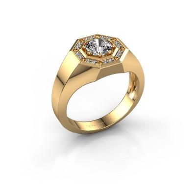 Foto van Heren ring Jaap 585 goud diamant 1.12 crt