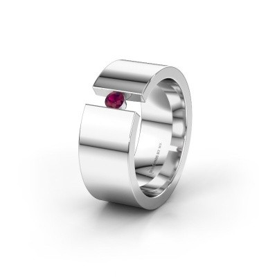 Alliance WH0146L18BP 925 argent rhodolite ±8x2 mm