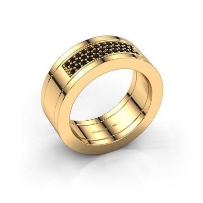 Bild von Ring Marita 1 585 Gold Schwarz Diamant 0.28 crt