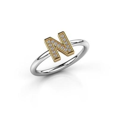 Ring Initial ring 110 585 witgoud