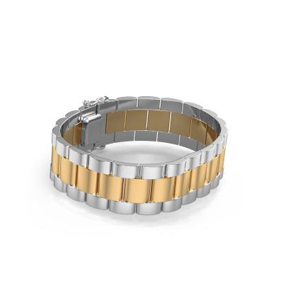 Picture of Rolex style bracelet Erik 18 mm 585 gold