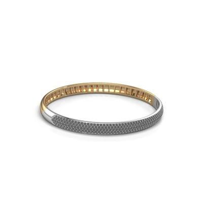 Picture of Bracelet Emely 6mm 585 gold black diamond 2.416 crt