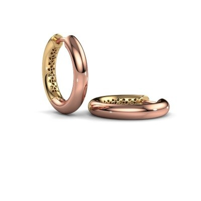 Creolen Tristan A 19 mm 585 rosé goud