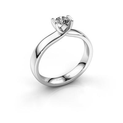 Foto van Verlovingsring Noor 950 platina diamant 0.30 crt
